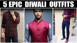 Diwali Special | Classic and Timeless Festive Wear for Men | Men Epic Outfits | Mayank Bhattacharya