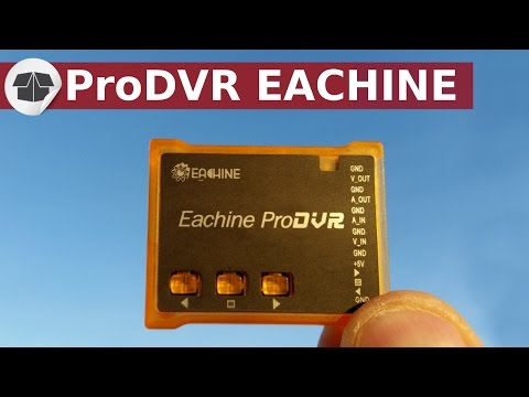 Pro DVR Eachine FPV video recorder - How to record the video of its drone ?