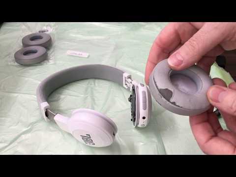 JBL E45BT Headphone - Ear Cusion Change - Ohrpolster Ersetzen - Part 1