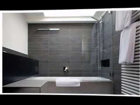Narrow Bathroom Design   YouTube