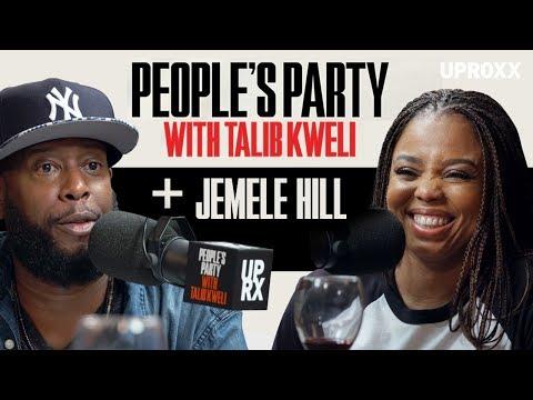 Talib Kweli And Jemele Hill Talk LeBron James, Donald Trump & Athlete Rappers I People's Party