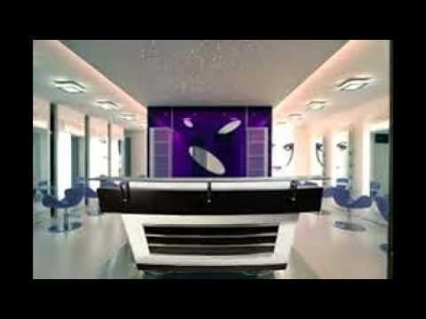 Hair salon reception desk youtube for Actual beauty salon