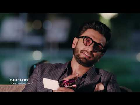 Café Shots | The Double Trouble with Ranveer Singh | Starry Nights 2.OH!