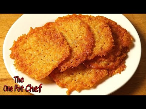Quick Tips: Parmesan Crisps   One Pot Chef