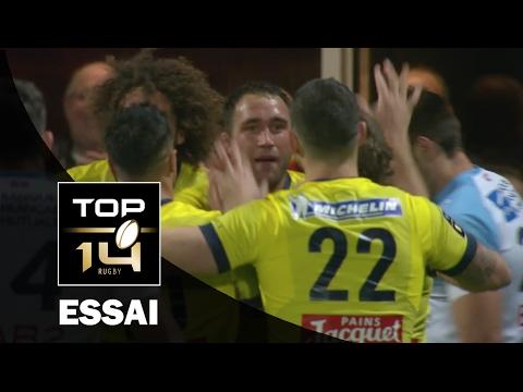 TOP 14 ‐ Essai Alexandre LAPANDRY (ASM) – Clermont-Bayonne – J18 – Saison 2016/2017