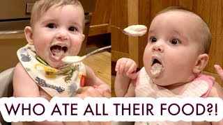 our-twin-baby-girls-eat-food-for-the-first-time-mchusbands