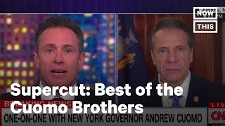 Best of The Cuomo Brothers: America's Favorite TV Family During Coronavirus | NowThis