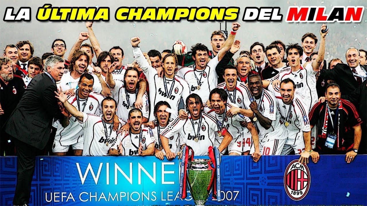 Resultado de imagem para milan champions league 2007