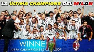 La Última CHAMPIONS LEAGUE 🏆 del MILAN (Campeón 2006/2007)