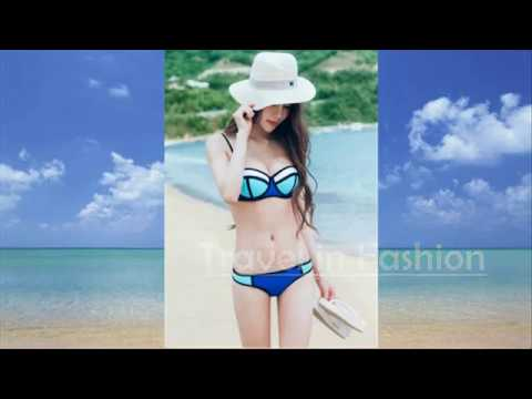 Sexy Women Bikini Two Piece Swimsuit Set Женское бикини