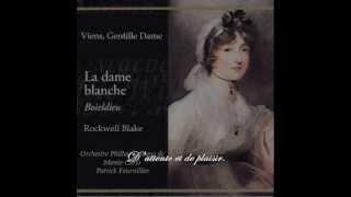 Viens, Gentille Dame et Komm, o holde Dame - Voix de Rockwell Blake et Fritz Wunderlich