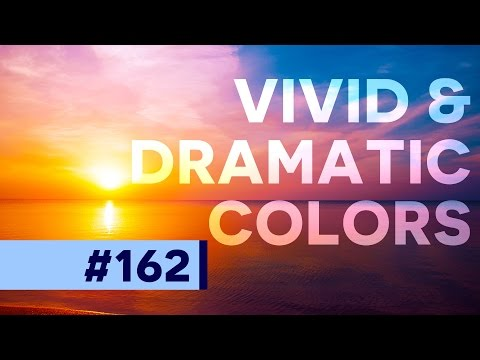Add Dramatic Colors to your Photographs w/ Color Balance - Photoshop
