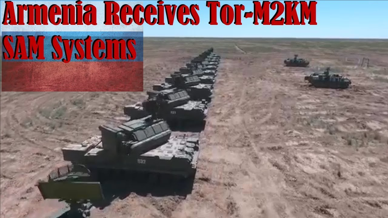 The Armenian military has received a batch of Russian-made Tor-M2KM 14