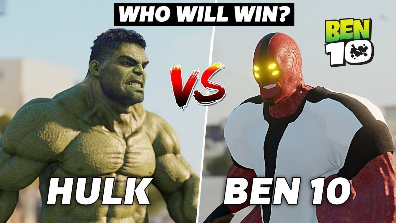 Download The Hulk VS Ben 10 Four Arms   Epic Battle & Transformations in Real Life   A Short film VFX Test
