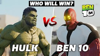 The Hulk VS Ben 10 Four Arms | Epic Battle & Transformations in Real Life | A Short film VFX Test