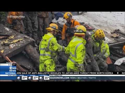California Crews Search for Missing In Mudslides