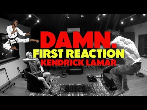 KENDRICK LAMAR  - DAMN FIRST REACTION/REVIEW (JUNGLE BEATS)