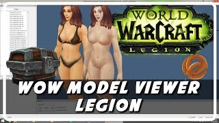 Wow Model Viewer Legion Update: Legendary Weapons Working (Psynaps)