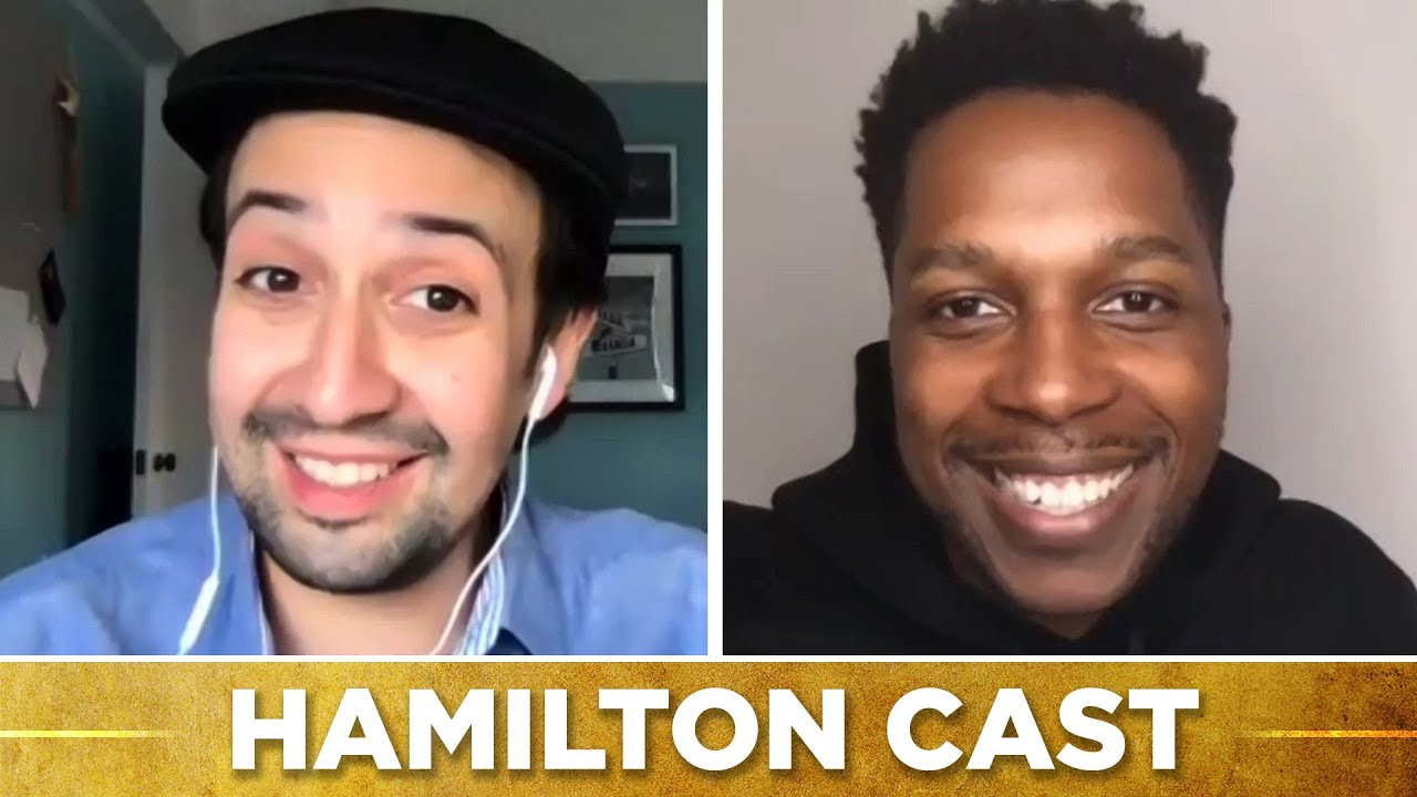 """Hamilton"" Cast Finds Out Which Disney/Hamilton Character Combos They Are"