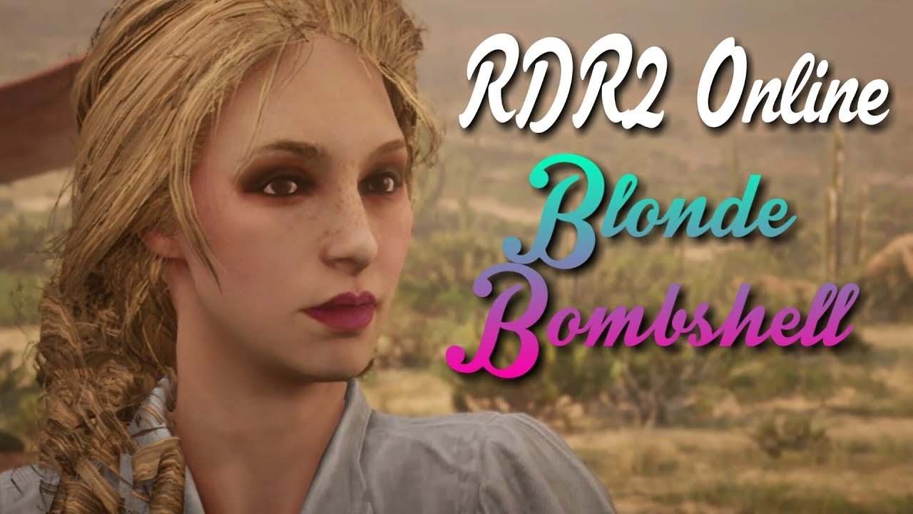 RDR4 Online How to Make a Hot Blonde Female Character