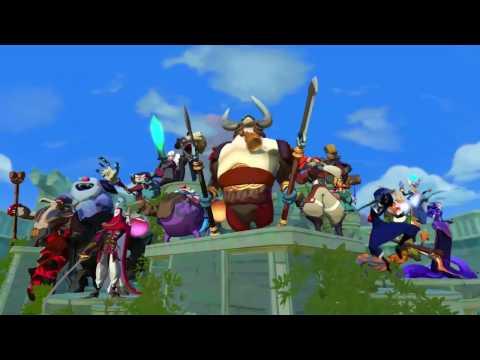 видео: gigantic — трейлер героя: wu