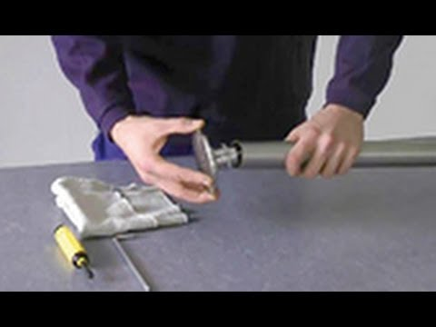 Montage Von Gelandersystemen Pfostenhalter Befestigen Youtube