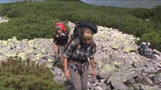видео карпаты пеший поход