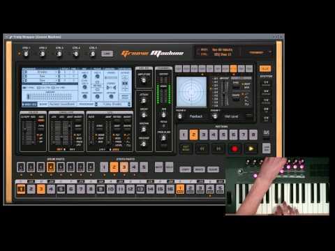 Groove Machine Loop Recording Demo