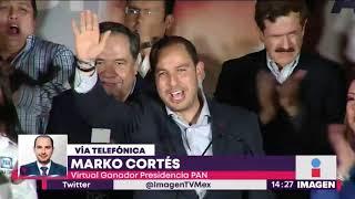 Hablamos con Marko Cortés nuevo dirigente del PAN | Noticias con Yuriria Sierra