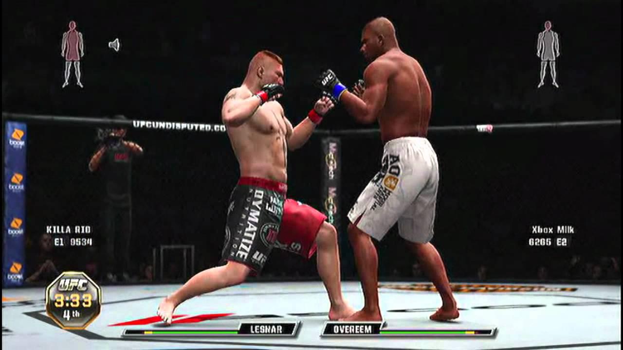 UFC Undisputed 3: Alistair Overeem vs Brock Lesnar Online ...