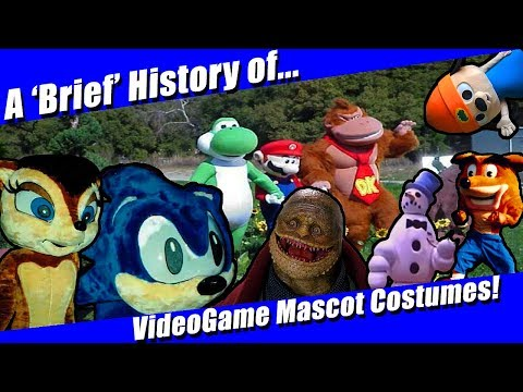 A Brief History Of Video Game Mascot Costumes
