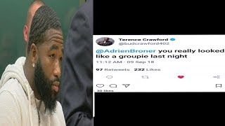 BREAKING NEWS: TERENCE CRAWFORD CALL