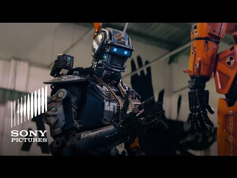 Chappie Movie New Robot See It March 6th Youtube