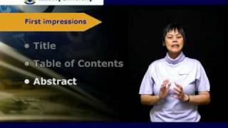 Writing the Thesis(This video lecture gives an overview of the different elements one should be aware of when writing a thesis or dissertation., 2010-03-25T02:10:10.000Z)