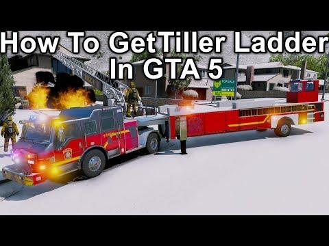 GTA 5 Tiller Ladder Download & Installation Tutorial - Tractor Drawn Aerial Tiller Pack By Medic4523