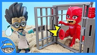Paw Patrol Chase, rescue the PJ Masks in jail.