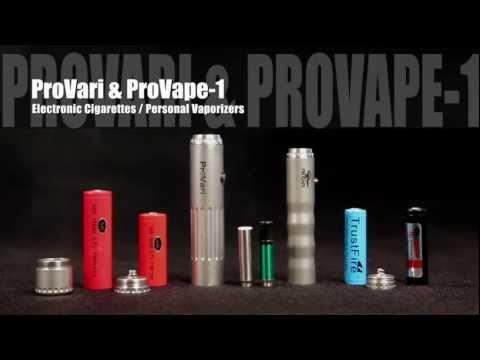 ProVape Basics Starter Guide for Using Electronic Cigarettes