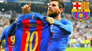 Messi vs Real Madrid el clasico 23/4/2017 [4K] Barcelona Real Madrid 3-2 Goals Highlights 23/4/2017