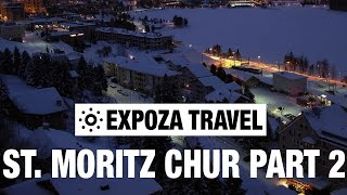 St. Moritz - Chur Part 2 (Switzerland) Vacation Travel Video Guide(Travel video about destination St. Moritz Chur in Switzerland. In the winter we travel by train across the famous Albula line from St. Moritz to Chur. Since 2008 the ..., 2016-02-14T00:00:01.000Z)