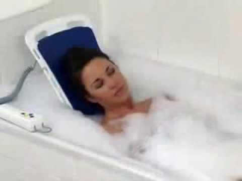 Bellavita Bathlift from Drive Medical - YouTube