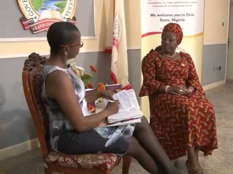 Bisi Fayemi #One of the top 20 most-influential women in Africa...; 60 Minutes With Angela