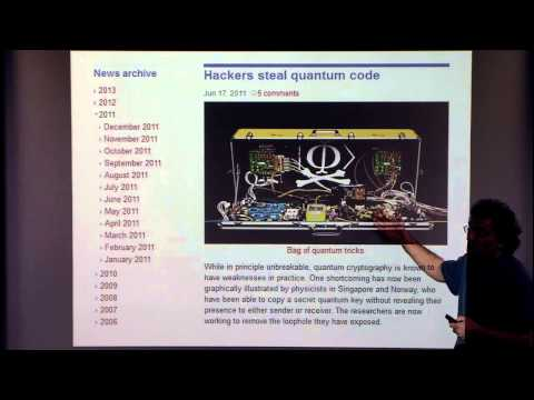Quantum and Post-Quantum Cryptography