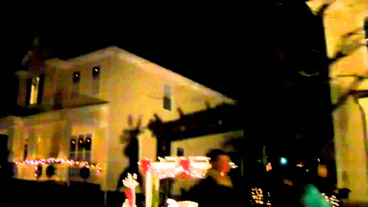 McAdenville, NC Christmas Lights 2010 - YouTube