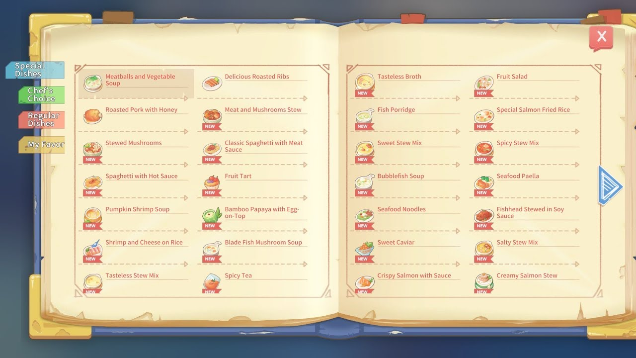 Cooking Time With New Recipes My Time At Portia Youtube