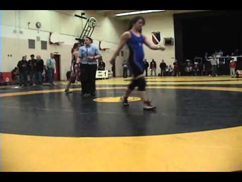 2010 Ontario Junior Championships: 55 kg Laura Christensen vs. Sara Pattenaude