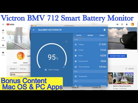 Victron Battery Monitor BMV-712 Smart - Install & Review