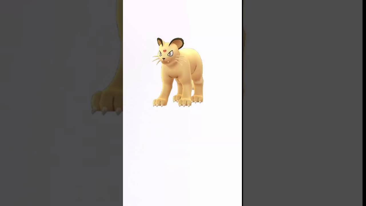 pokemon go meowth evolves into persian youtube