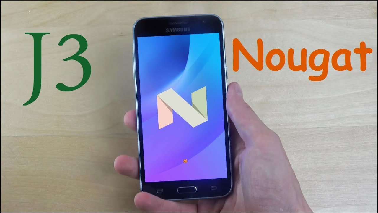 How To Install Android 7 1 2 Nougat on Samsung Galaxy J3 Nougat Custom Rom  Lineage OS 14 1