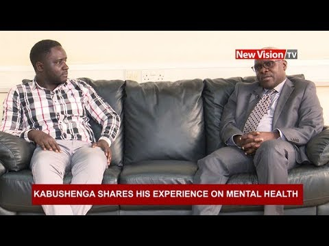 Kabushenga shares his experience on mental health thumbnail