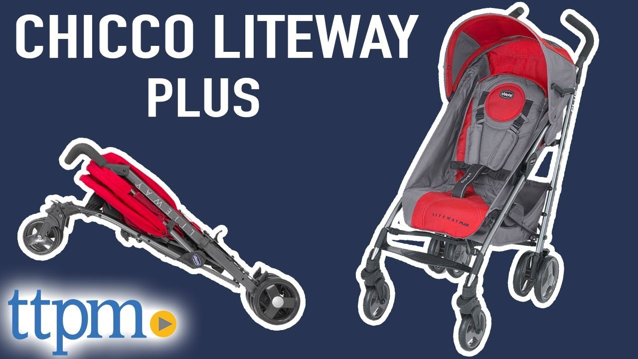 Liteway Plus Stroller Review And Instructions From Chicco Youtube